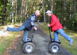 Motorizovaná dvoukolka segway