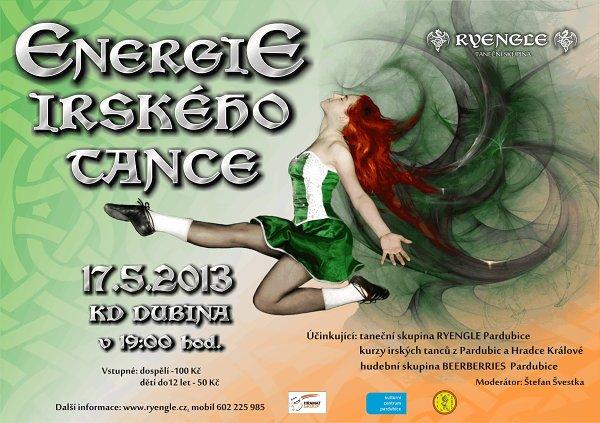 Energie Irského tance