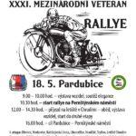 XXXI. Mezinárodní veteran rallye Pardubice