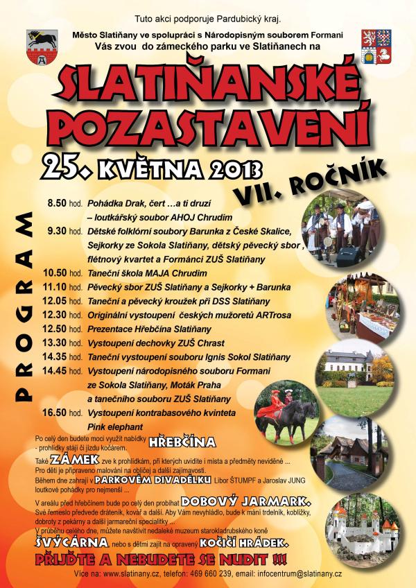 Slatiňanské pozastavení - Plakát