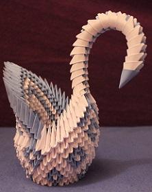Oblíbená verze labutě