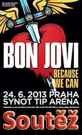 Soutěž o vstupenky na Bon Jovi