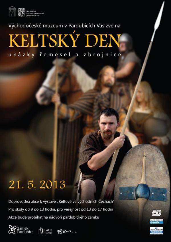 Keltský den - plakát akce