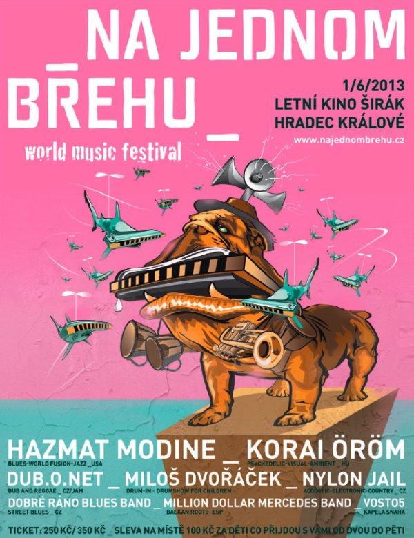 Festival Na jednom břehu 2013 se blíží