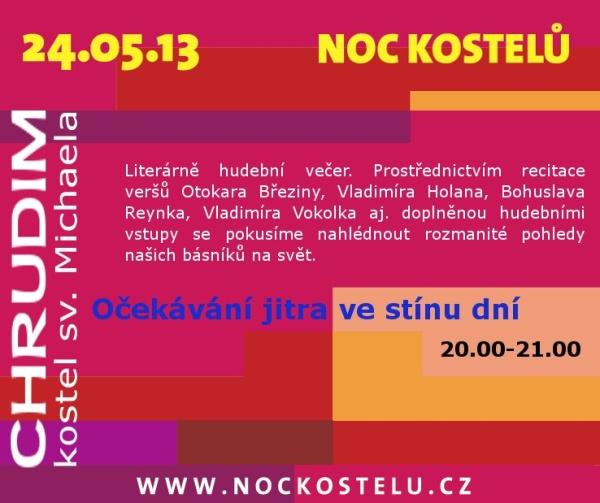 Chrudimská Noc kostelů 2013