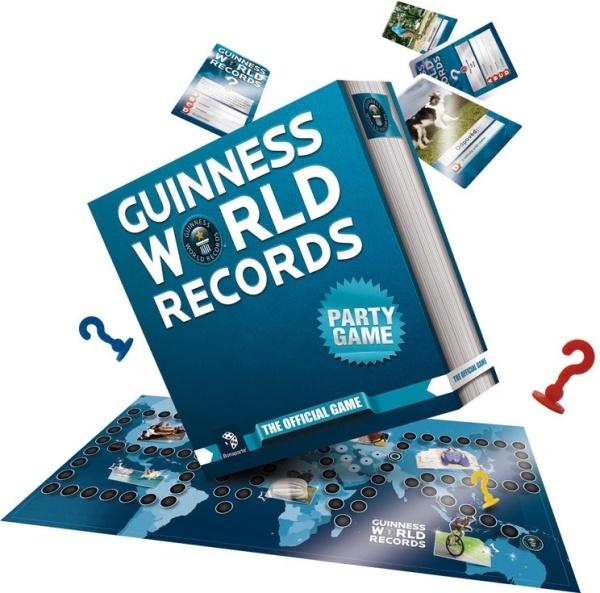 Párty hra Guiness World Records