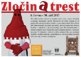 Interaktivní výstava Zločin a trest na zámku v Chrasti