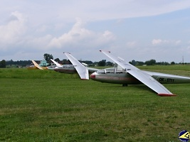 Gliders line, foto poskytnuto Aeroklubem Chrudim