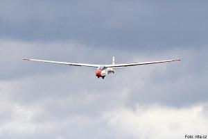 Létání v oblacích, foto: archiv Aeroklubu Chrudim