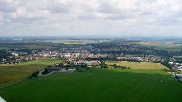 Pohled na současnou plochu letiště v Chrudimi, foto: archiv Aeroklubu Chrudim