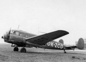 Siebel, foto poskytnuto Aeroklubem Chrudim