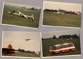 Přistávání, foto poskytnuto Aeroklubem Chrudim