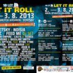 Let It Roll představuje nový areál festivalu