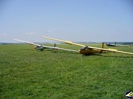 Soustředění v Poličce, foto: archiv Aeroklubu Chrudim