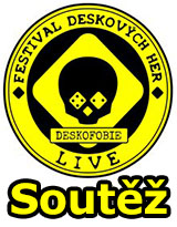 Soutěž o vstupenky na festival deskových her - Deskofobie LIVE