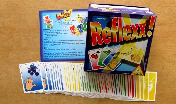 Reflexx - karty cvičí reakce