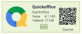 Quickoffice zdarma a jako bonus 10 GB na Google Disku