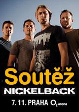Soutěž o vstupenky na koncert Nickelback