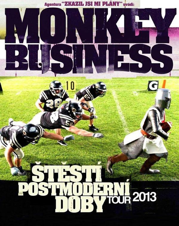 Soutěž o vstupenky na Monkey Business v R Klubu Chrudim