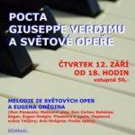 Pocta Giuseppe Verdimu a světové opeře