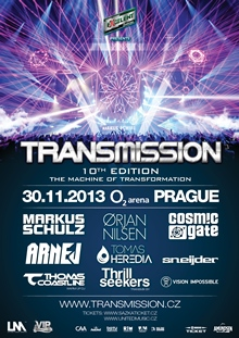 Jubilejní Transmission odhaluje line up