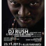 DJ Rush a CJ Bolland v listopadu L-Klubu