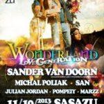 Wonderland se Sander van Doornem v SaSaZu