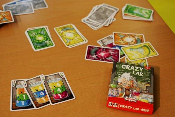 Karetní hra - Šílenej prófa