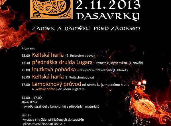 Samhain - keltové oslaví Nový rok