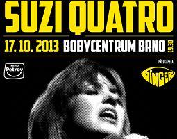 Koncert legendy glamrocku Suzi Quatro se přesouvá do haly s větší kapacitou