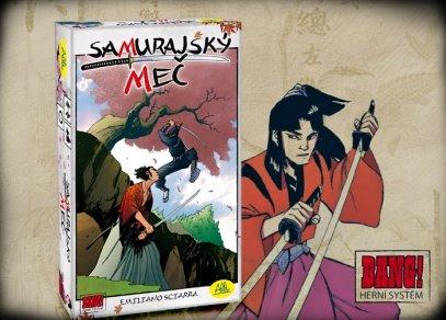 Samurajský meč - novinka od ALBI