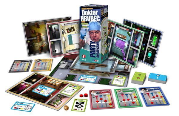 Párty hra do třetice - Doktor Hrubec