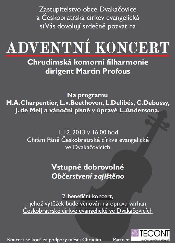 Adventní koncert v Dvakačovicích