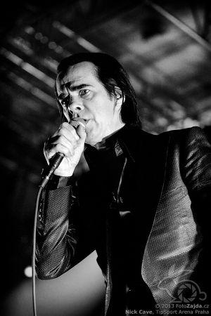 Nick Cave, foto: (c) 2013 FotoZajda.cz