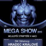 Mega Show 2013 – nejlepší striptéři v akci