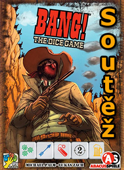 Soutěž o hru Bang! The Dice Game
