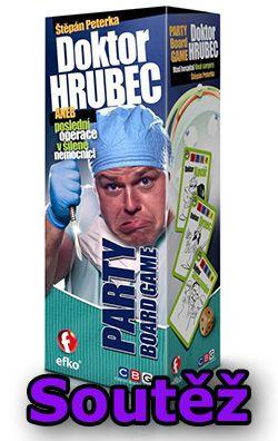 Soutěž o deskovou hru Doktor Hrubec