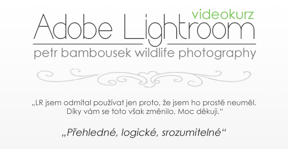 Soutěž o Videokurz Adobe Photoshop Lightroom
