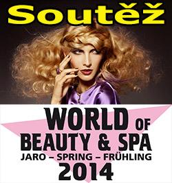 Soutěž o kosmetický balíček a vstupenky na mezinárodní kosmetický veletrh WORLD OF BEAUTY & SPA 2014
