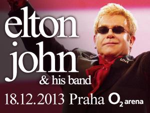 Těsně před Vánoci navštíví Prahu Elton John