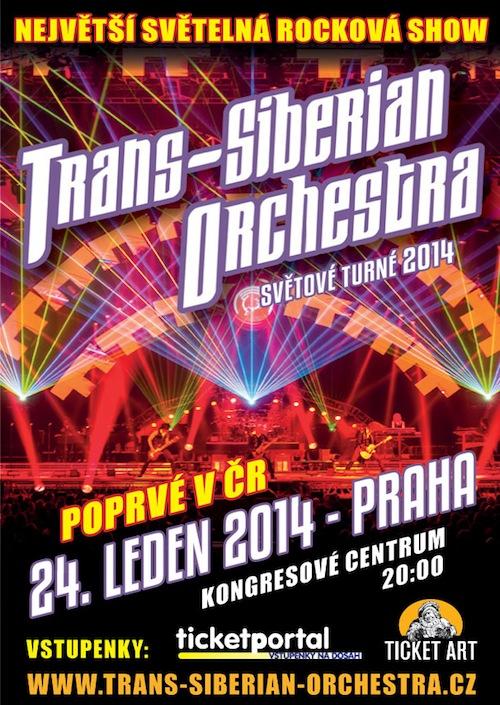 Soutěž o vstupenky na Trans Siberian Orchestra