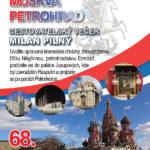 68. cestovatelský večer – Moskva a Petrohrad