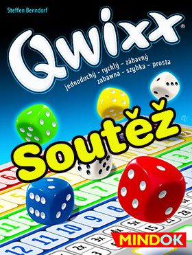 Soutěž o kostkovou hru Qwixx