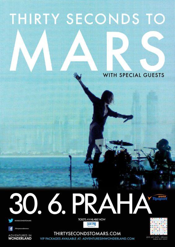 V červnu se do Prahy vrátí Thirty Seconds To Mars