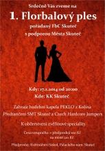 1. Florbalový ples ve Skutči