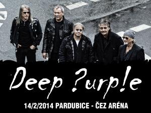 Deep Purple rozduní v únoru pardubickou ČEZ Arena