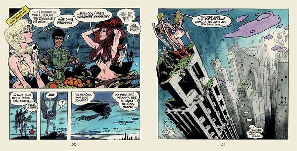 Slavný Saudkův komiks Muriel a andělé čekal na vydání čtvrt století