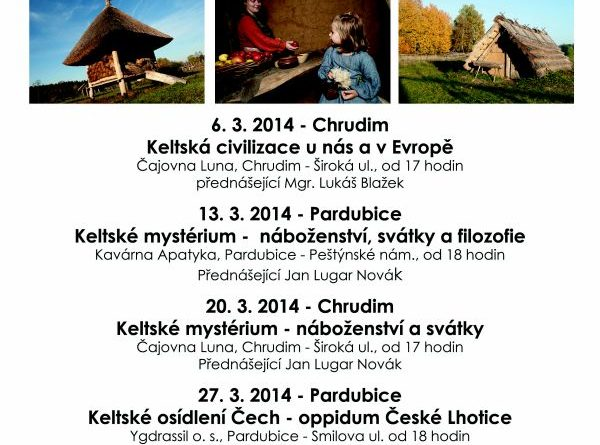 Keltské přednášky - plakát akce