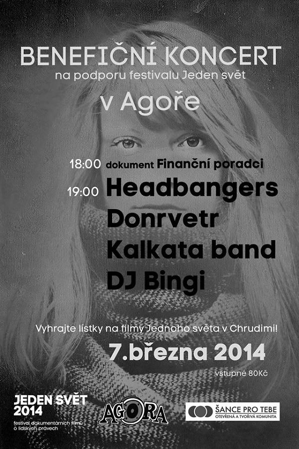 Benefiční koncert v klubu Agora