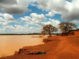 Krásná krajina Afriky